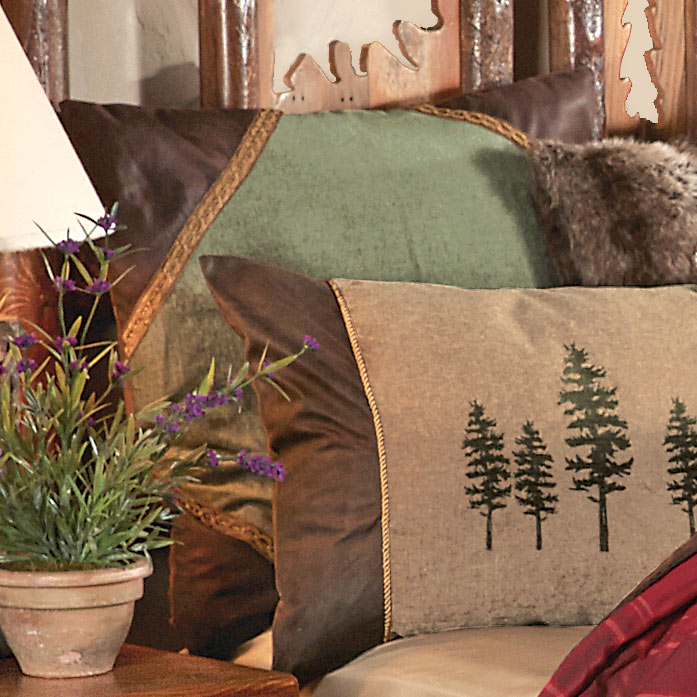 Highlands Cabin Euro Sham - Wilderness Bedding