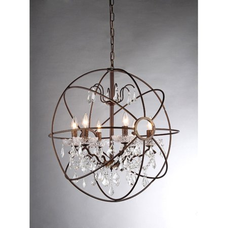 Warehouse of Tiffany Edwards RL8049 Crystal - Mocha Bronze Finish Chandeliers