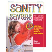 Sanity Savers for Early Childhood Teachers - eBook