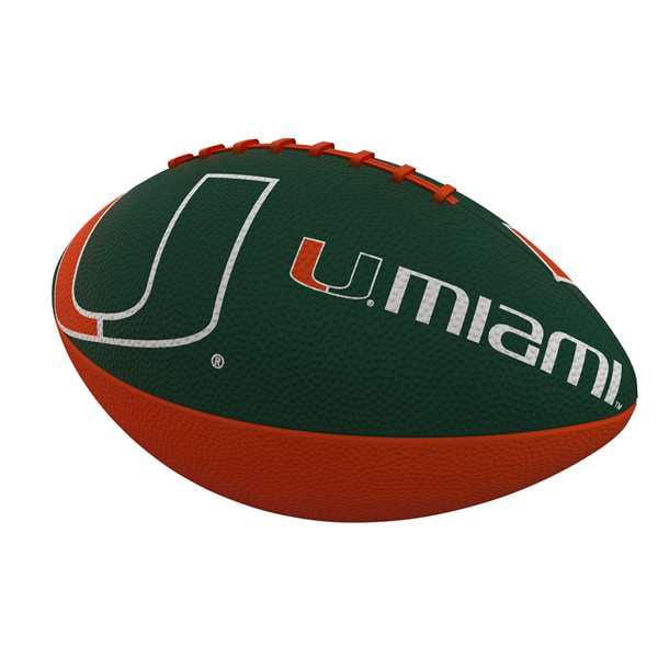 Miami Combo Logo Junior-Size Rubber Football