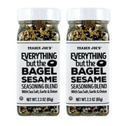 TJ Everything but the Bagel Sesame With Sea Salt, Garlic and Onions (pack of 2)
