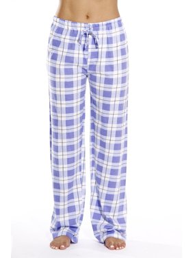 Just Love Plaid Pajama Pants Cotton Jersey