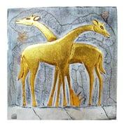 Giraffe Couple Wall Panel (Indonesia)