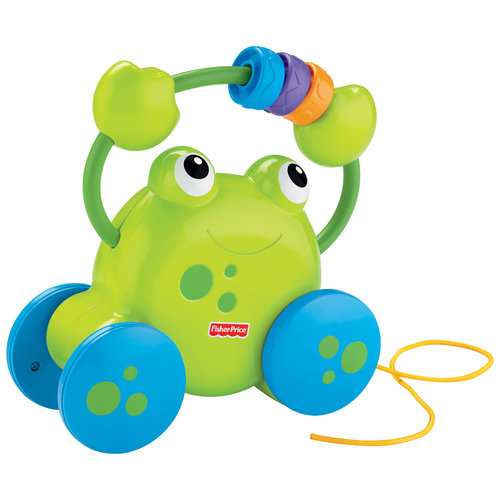 Fisher-Price Growing Baby Pull-Along Froggie