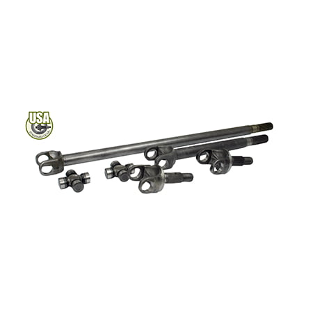 Usa Standard 4340 Chrome Moly Replacement Axle Kit For Ford Bronco   F150  Dana 44 W Super Joints   Za W24136