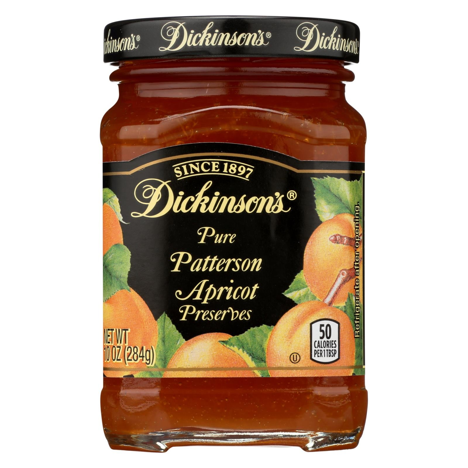 Dickinson Pure Patterson Apricot Preserves - 10 oz.