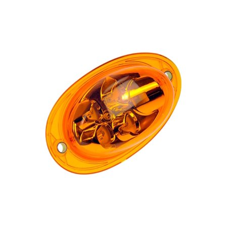 - Dorman 888-5200 Turn Signal Light For Freightliner Cascadia, Amber Lens lens
