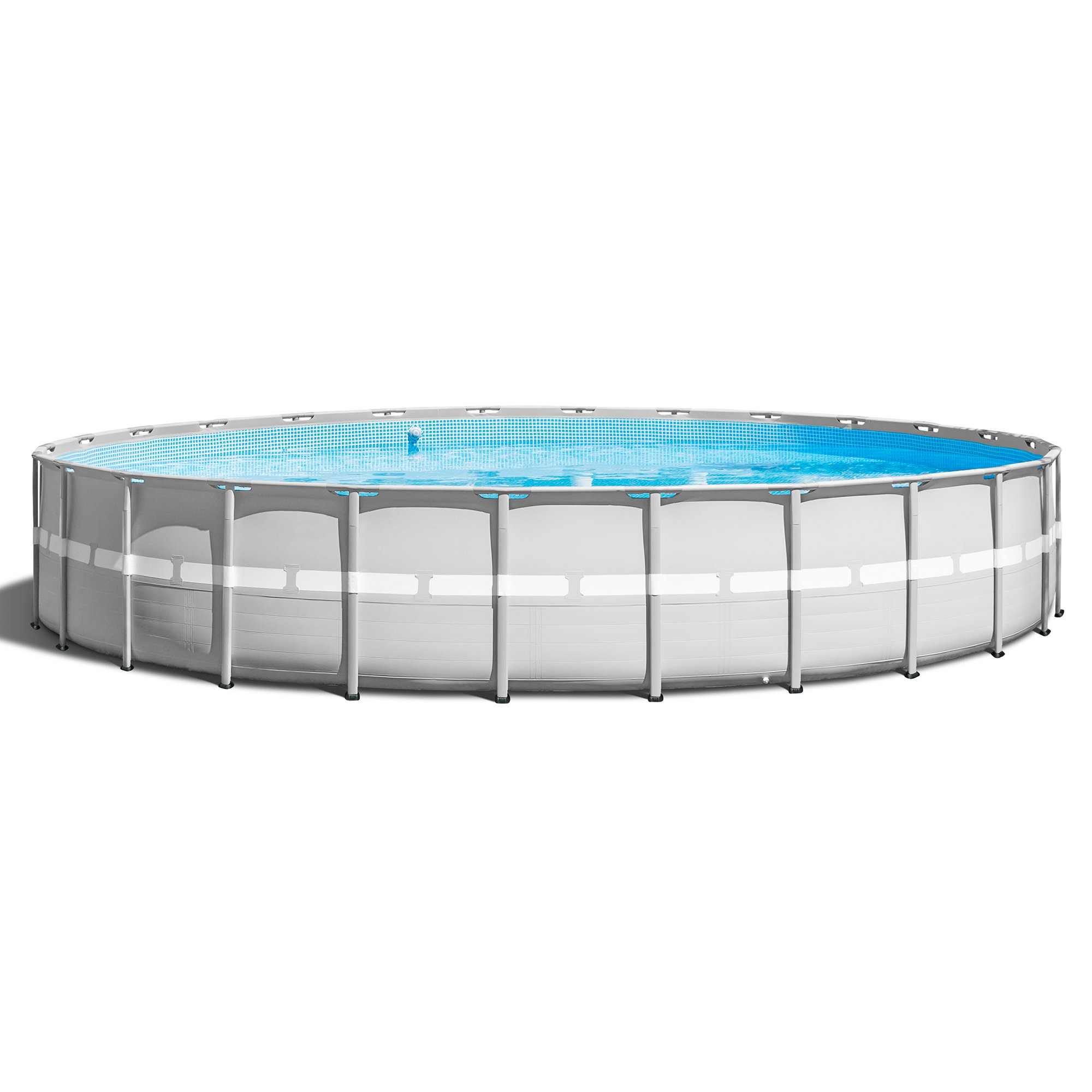 "Intex 26' x 52"" Ultra Frame Above Ground Swimming Pool Set with Pump & Ladder by Intex"