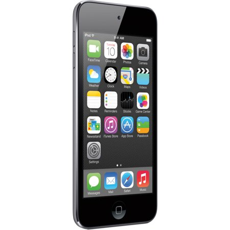 "Refurbished Apple iPod touch 16GB 5th gen 4"" MP3 MP4 Music Video Player - Gray - MGG82LL/A"