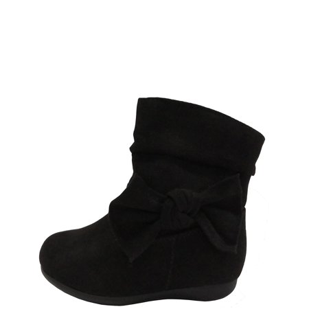 Black Patent Boots For Girls (Gt Wonder Nation Boot Slouch)