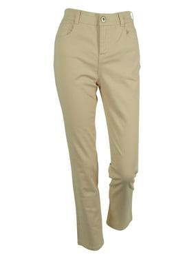 Style & Co. Women's Tummy Control Slim Leg Denim Jeans (22W, French Birch)