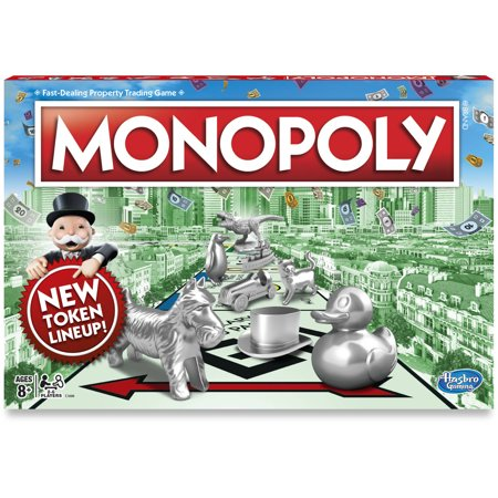 Monopoly Game, Classic Family Board Game for 2 to 6 Players