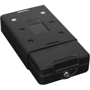 "Bulldog Cases Car/Personal Safe w/ Key Lock, Mounting Bracket & Cable Exterior Size 11.3"" x 6.9"" x 2.5"" / Interior Size 10"" x 6.4"" x 2"""