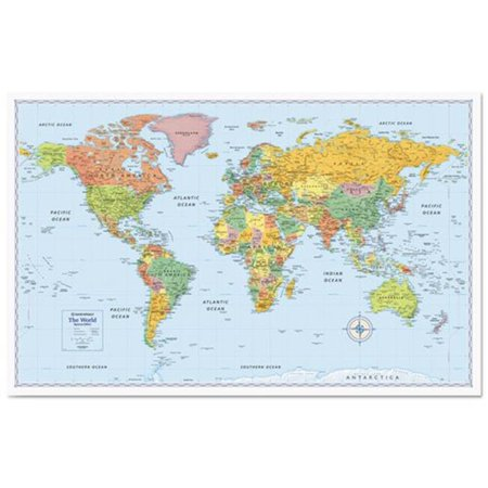 Complete Map Of Canada.Advantus Detailed Wall Map Rm528012754