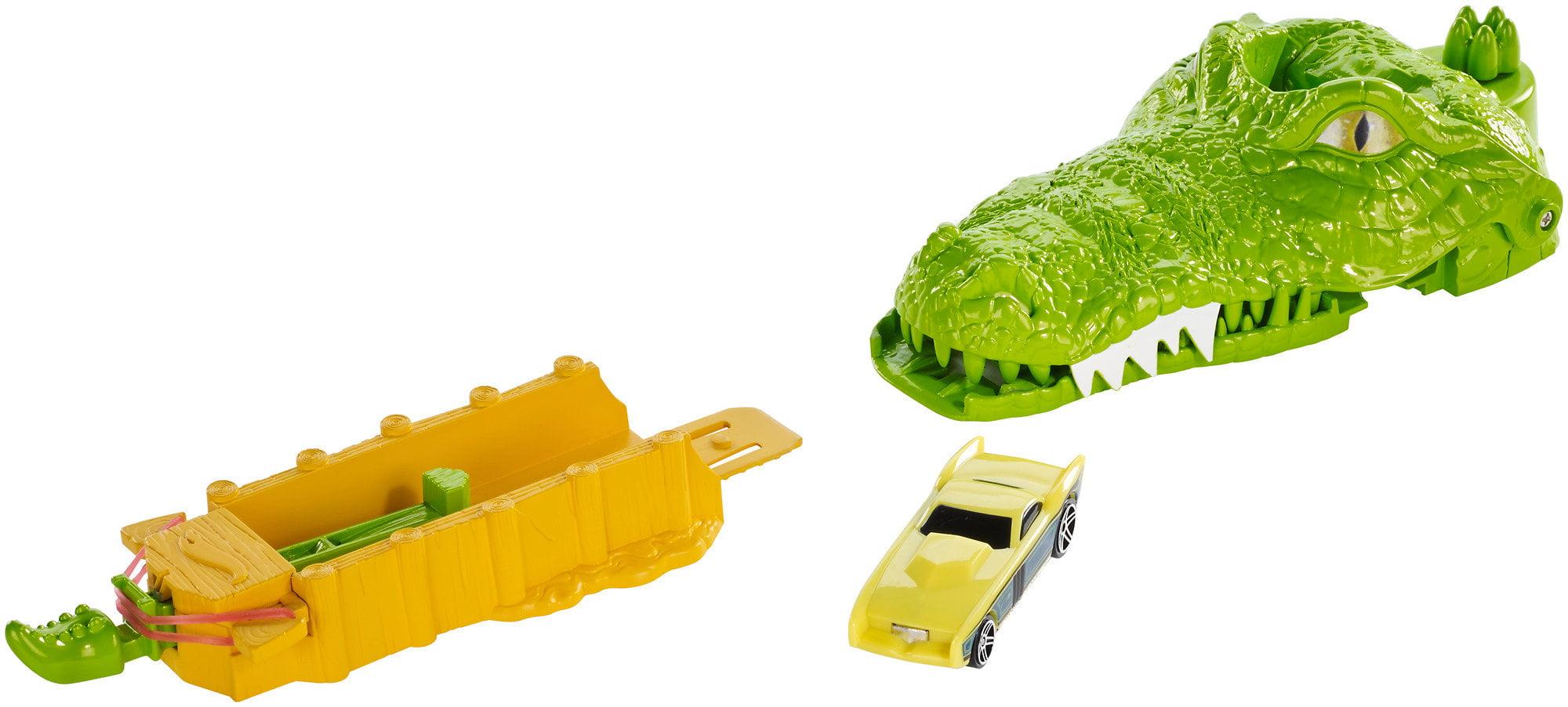 Hot Wheels Crocodile Crunch Play Set by Mattel