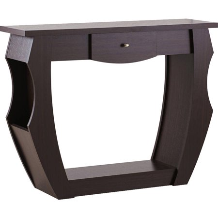 Furniture of America Stopher Contemporary Style Console Table, Walnut ()