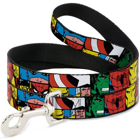 Avengers Marvel Comics Superheroes Cut Out Collage Fun Animal Pet Dog Cat Leash