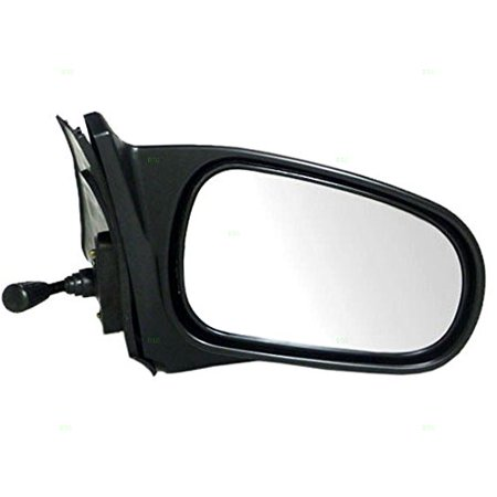 Aftermarket Side View Mirrors - Passengers Manual Remote Side View Mirror Replacement for Honda 76200-S00-A05, Brand new aftermarket replacement By AUTOANDART