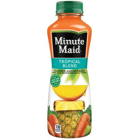 Pineapple Pear - Minute Maid Tropical Blend Juice Beverage, 15.2 Fl. Oz.