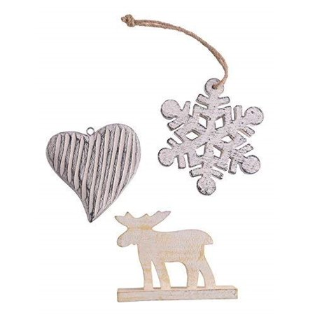 storeindya Christmas Decorations Ornament Tree Hanging Decorative Motifs Xmas Gift Ideas (Design 2) - Christmas Ornaments Ideas