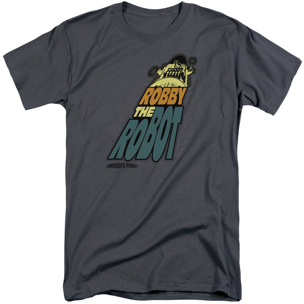 Forbidden Planet Robby The Robot Mens Big and Tall Shirt