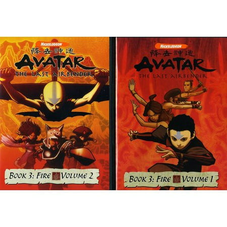 Avatar   The Last Airbender  Book 3   Fire  Vols  1   2  Full Frame
