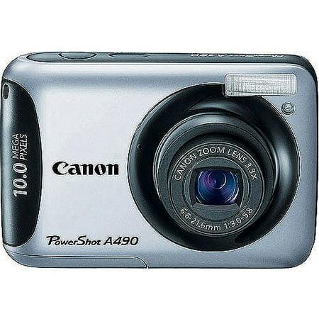 PowerShot A490 Compact Camera