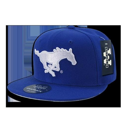 Southern Methodist Mustangs Freshman Fitted Hat (Royal)