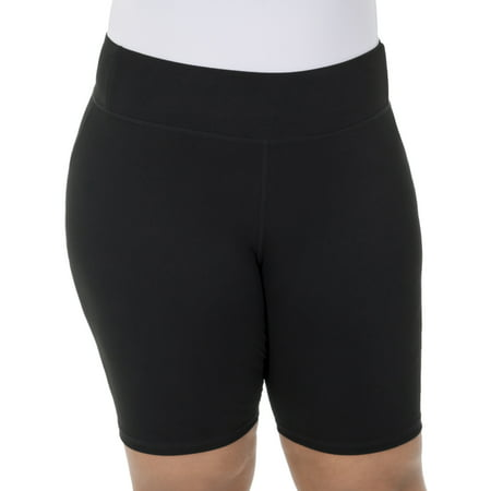 fe9085538 Fit for Me - Women s Plus Size Bike Short - Walmart.com