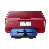 Canon PIXMA TS8120 Red Wireless Inkjet All-In-One Printer