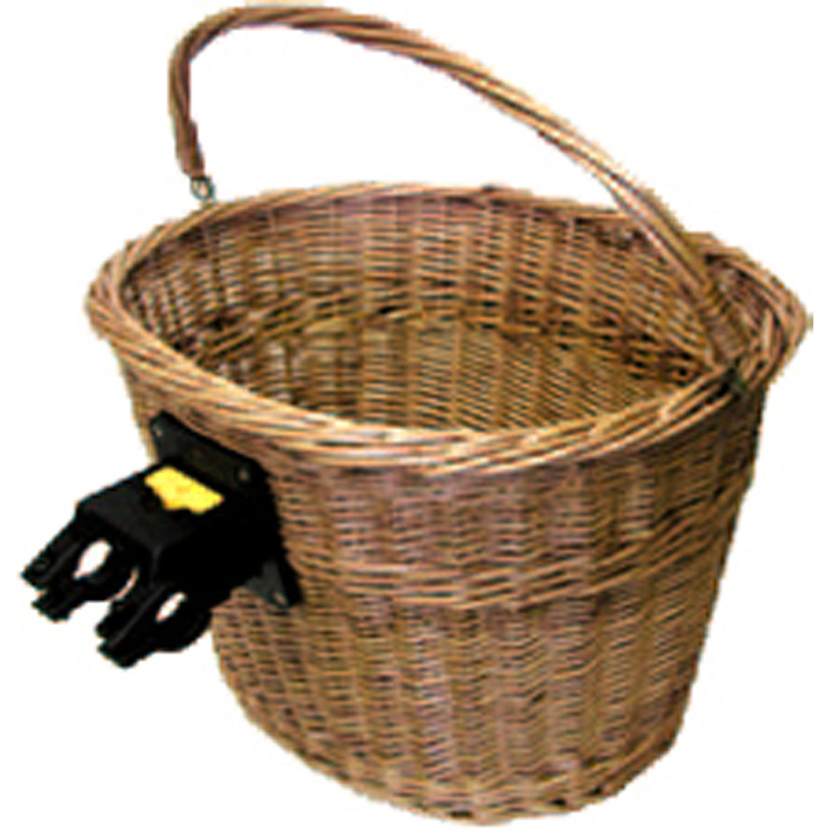 Summit Wicker Quick Release Bicycle Basket w/Handle