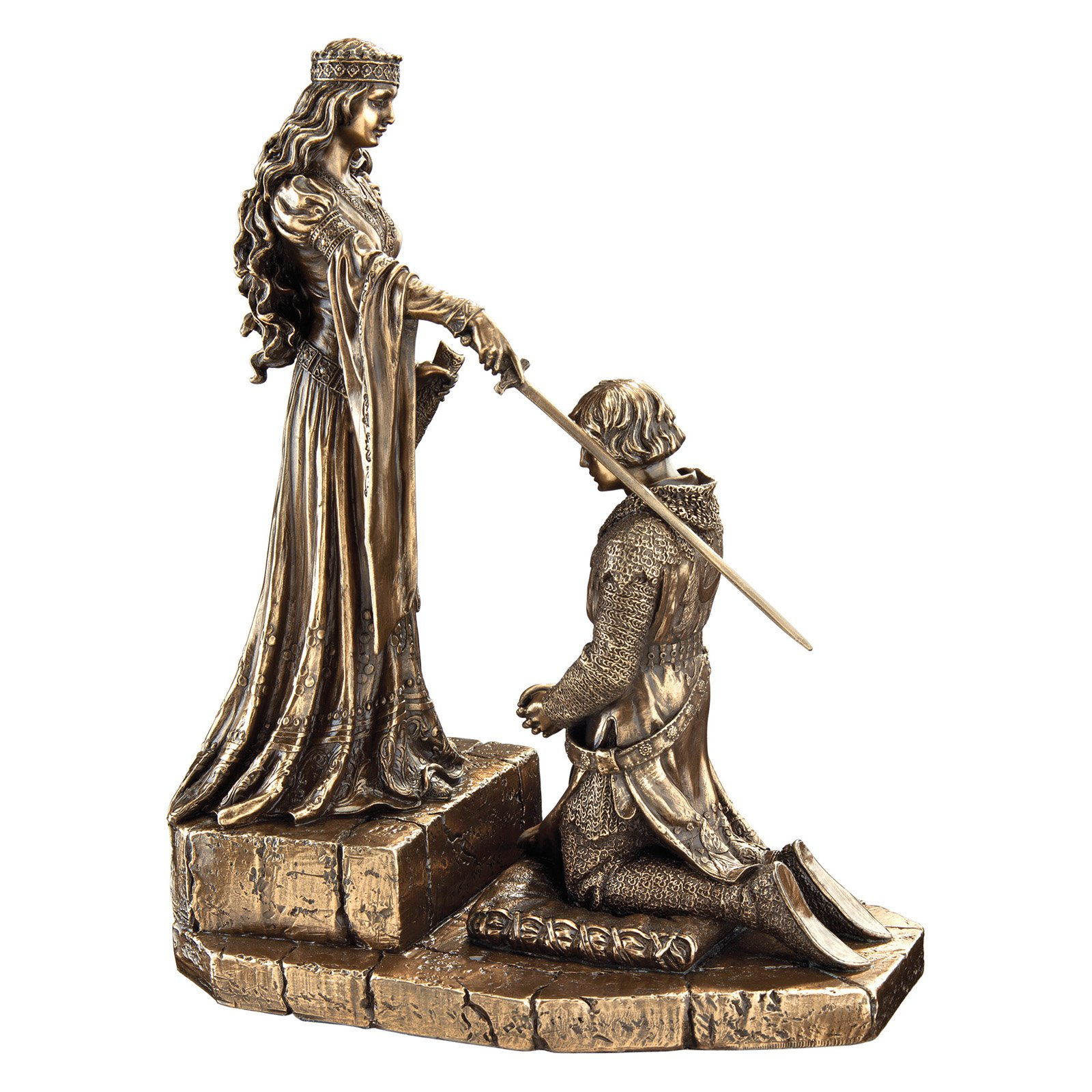 The Accolade Statue