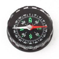 "Unique Bargains 1.8"" Dia Hiking Camping Navigation Direction Guide Survival Pocket Compass"