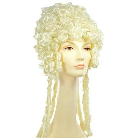 Morris Costumes LW255BL Marie Antoinette SP Blonde Wig Costume](Marie Antoinette Wigs)