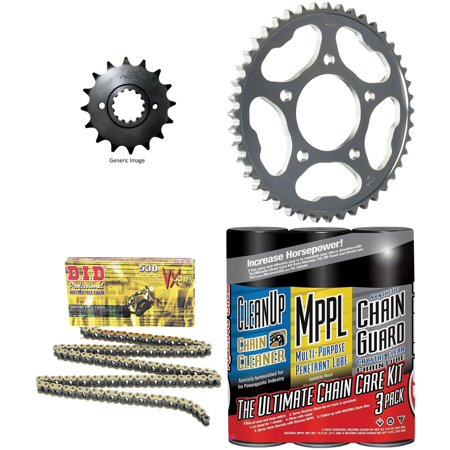 Did 530Vx Pro Street X Ring Vx Series Chain Gold Black With Maxima Wax  Sunstar Front   Rear Sprocket Kit For Street Honda Vfr750f 1986