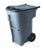 RCP9W21GY - Brute Rollout Heavy-Duty Waste Container