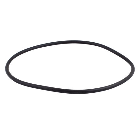 Black Universal O-Ring 280mm x 8.6mm BUNA-N Material Oil Seal Washers Grommets