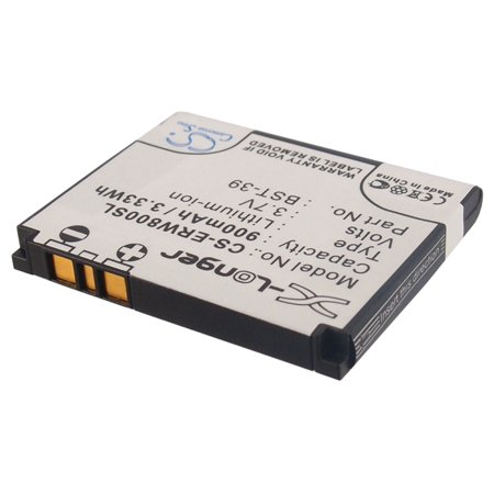 Cameron Sino 900mAh/3.33Wh Battery Compatible With Sony Ericsson W910i, W580i, W700i, W700c, V630i, W600c, W600i, W550i, W550c, W800c,  and others