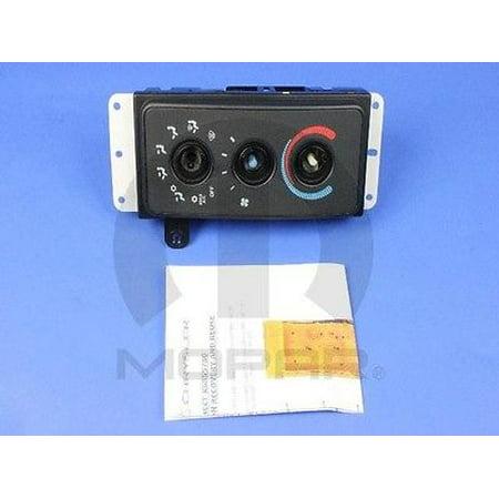 A/C and Heater Control Switch MOPAR 68171480AA fits 99-02 Dodge Ram 2500  5 9L-V8