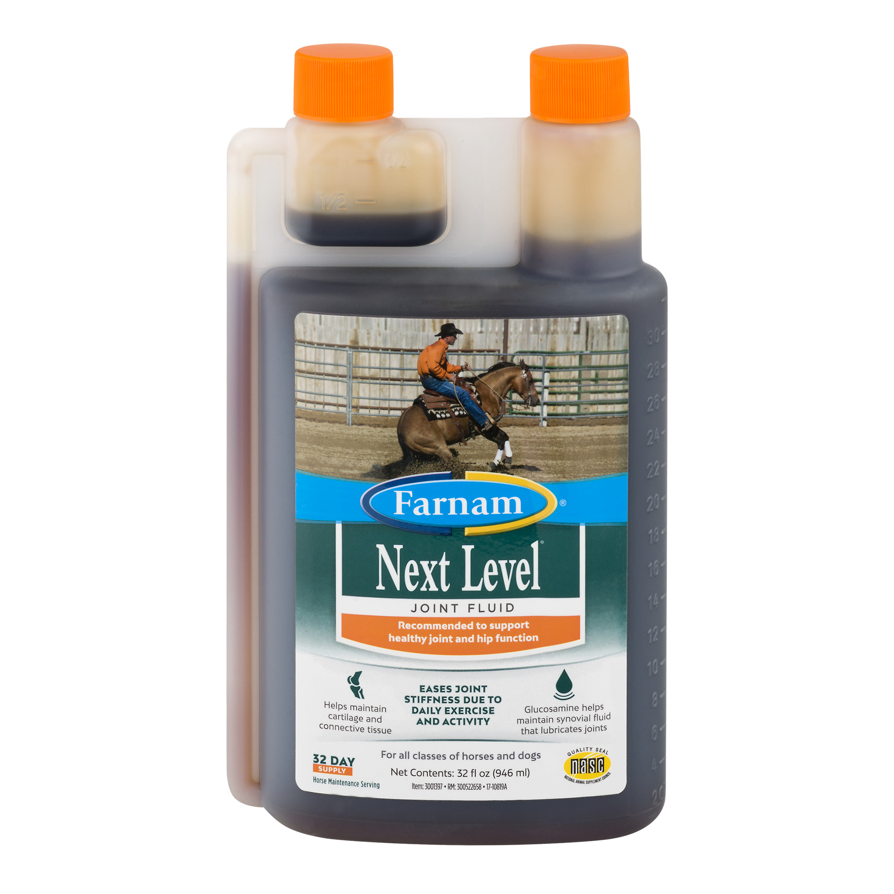 Farnam Next Level Joint Fluid For Horses And Dogs, 32.0 FL OZ