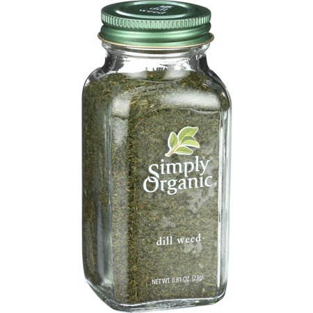 - (2 Pack) Simply Organic Cut & Sifted Dill Weed, 0.81 Oz