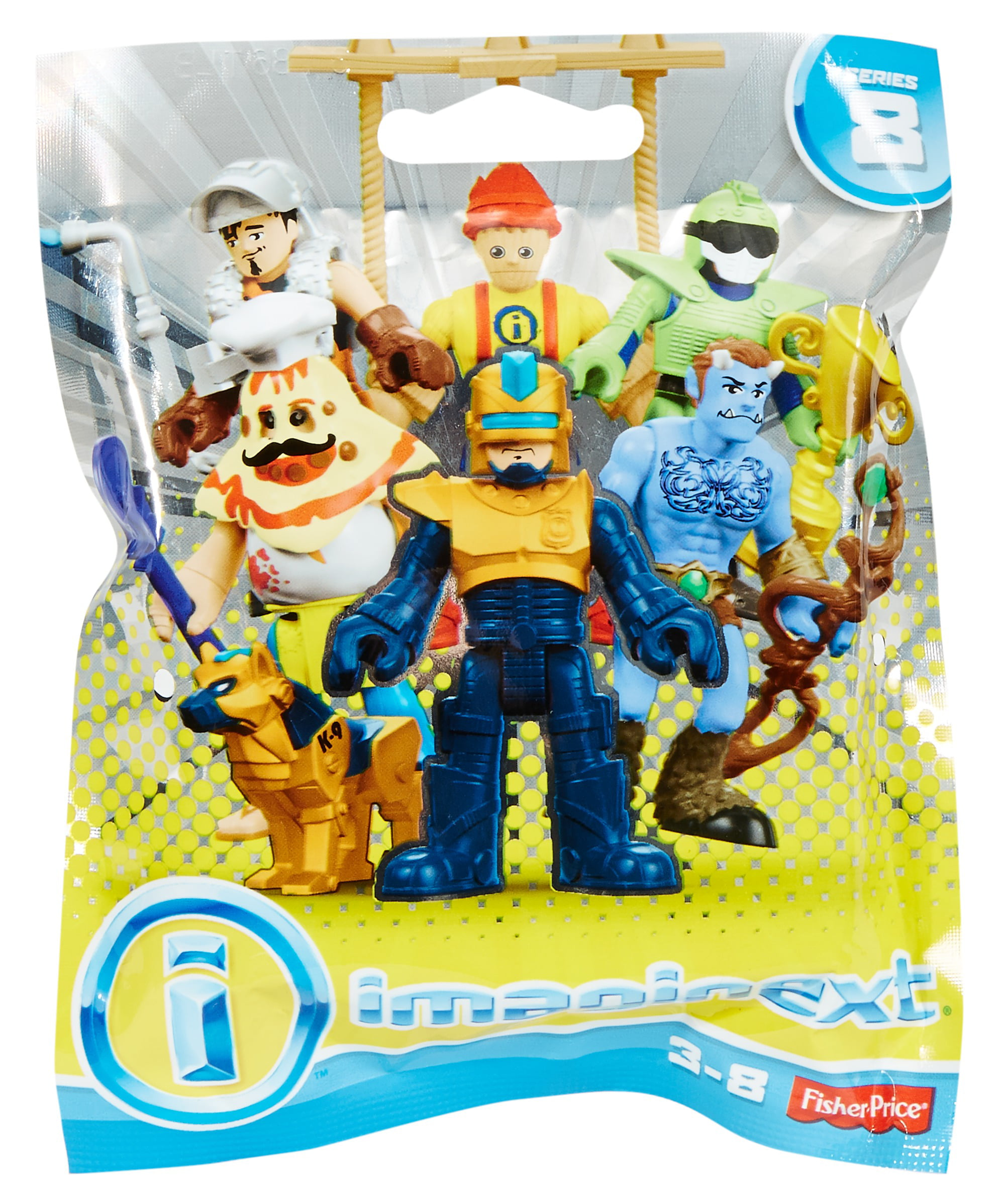 Imaginext Birthday Clown Series 4 Blind Bag Fisher-Price action figure toy