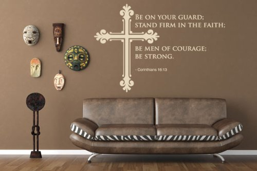 be on your guard stand firm in the faith be men of courage be