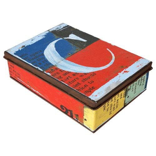 Wilco Home 'C' Rectangle Metal Box