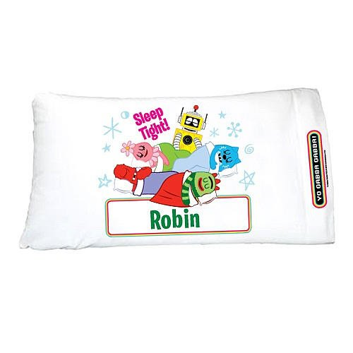 Personalized Yo Gabba Gabba! Group Pillowcase
