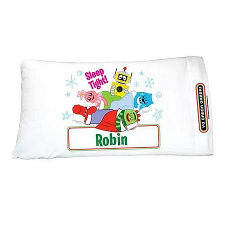 personalized yo gabba gabba group pillowcase walmart com
