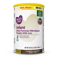 Parent's Choice Non-GMO Premium Infant Formula with Iron, 36 oz