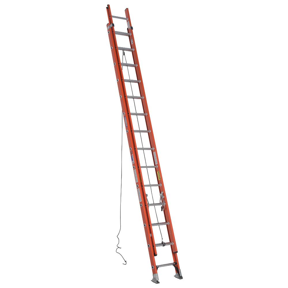 Werner D6228-2 28 ft. Type IA Fiberglass D-Rung Extension Ladder by Werner