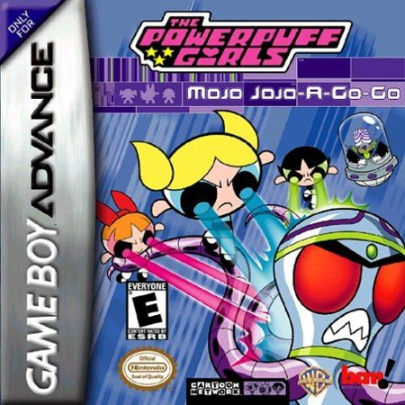 Game Boy Advance Gba Box - The Powerpuff Girls: Mojo Jojo A-Go-Go - Nintendo Gameboy Advance GBA (Refurbished)