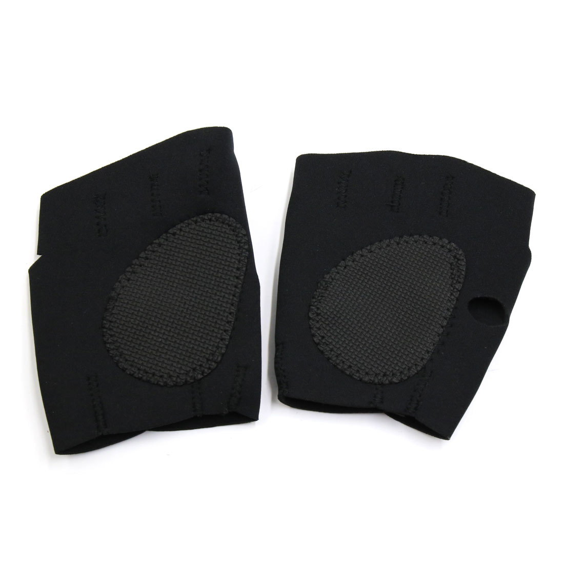 1 Pair Outdoor Training Workout Wrist Wrap Brace Elastic Protector Support Strap Glove Black - image 3 of 5